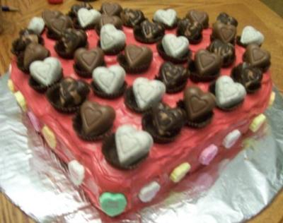 Coolest Valentine Cake