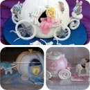 Horse Carriage Birthday Cakes