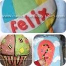Hot Air Balloon Birthday Cakes