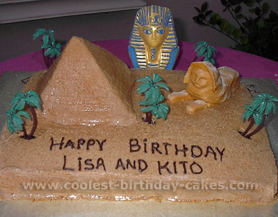 Pyramid Cake
