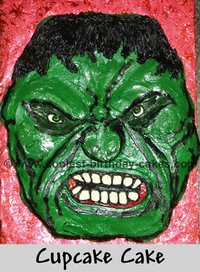 Coolest Homemade Hulk Cakes