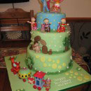 In the Night Garden Scene Birthday Cakes
