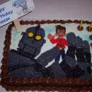 Iron Man Birthday Cakes