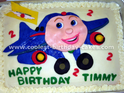 Coolest Homemade Jay Jay The Jet Plane Cakes