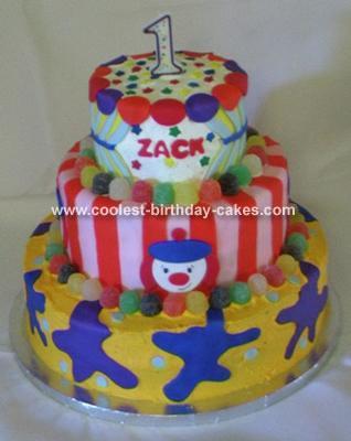 Jo Jo Clown Cake