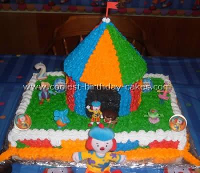 Coolest Homemade Jojos Circus Cakes