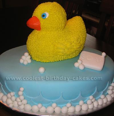 Ducky Birthday Cake Ideas Image Inspiration of Cake and Birthday