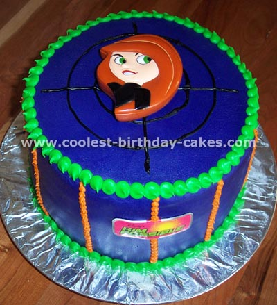 Coolest Kim Possible Cakes on the Web s Largest Homemade ...