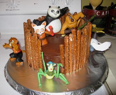 Kung Fu Panda Cakes 1
