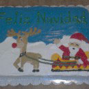 Santa Claus Birthday Cakes