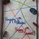 Laser Tag Birthday Cakes
