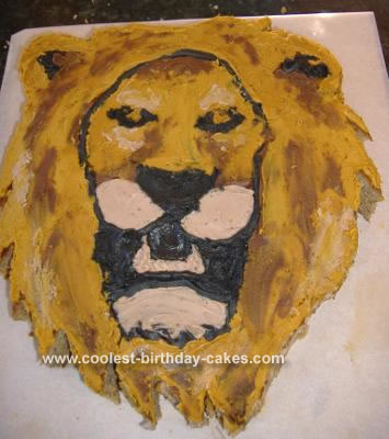 Pirate Birthday Cake on Lion Cake 15