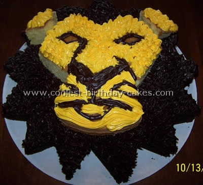 Coolest Lion Picture Cakes And Cake Ideas