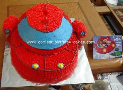 Little Einsteins Rocket Birthday Cake
