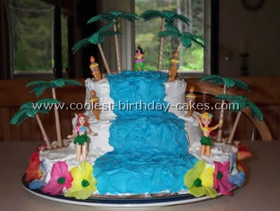 Coolest Luau Party Cakes Jpg 400x301 Cake Ideas For Kids