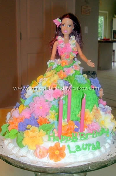 Coolest Hula Girl Cakes For A Luau Party Idea 1