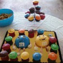 M and Ms Birthday Cakes