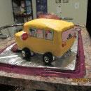 Magic School Bus Birthday Cakes