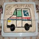 Mail Truck Birthday Cakes
