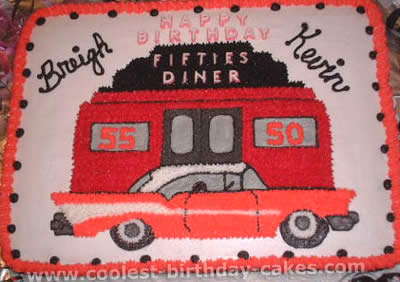 Coolest Ideas For Making Cakes A 1950s Theme Party 3s 3