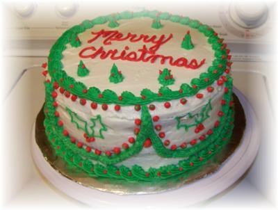 Homemade Chirstmas Cake