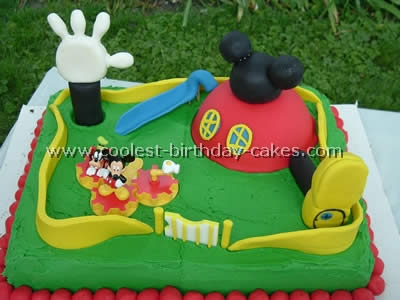 Coolest Mickey Mouse Picture Cakes On The Web S Largest