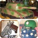 Military Birthday Cakes
