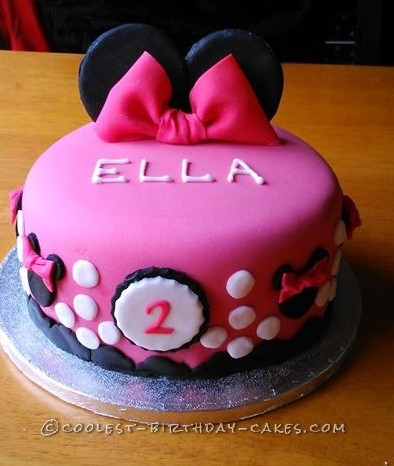 Excellent 15 Cool Minnie Mouse Birthday Cakes Funny Birthday Cards Online Alyptdamsfinfo