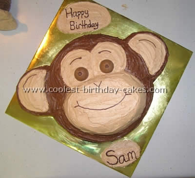 Coolest Monkey Birthday Cake Ideas And Photos