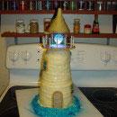 Lighthouses Birthday Cakes