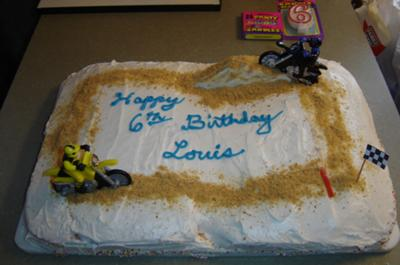 Motorcycle Cake Birthday Party Ideas