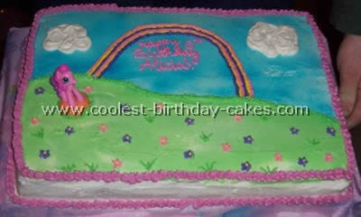 Coolest My Little Pony Birthday Cake Ideas 4