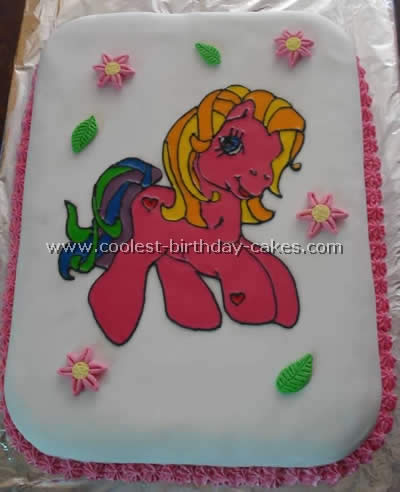 Coolest Homemade My Little Pony Cakes