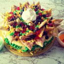 Nachos Birthday Cakes