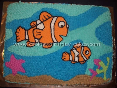 nemo cake template - coolest finding nemo cake photos and how to tips