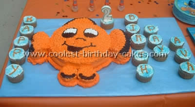 Coolest finding nemo cake photos for Nemo cake template