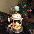 New Years Birthday Cakes