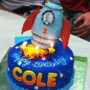 Rocket Birthday Cakes