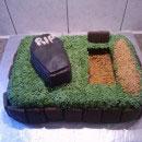 Graveyard Birthday Cakes