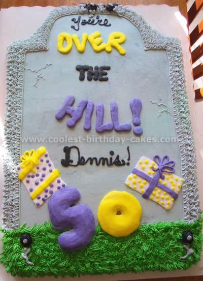 Coolest Homemade Over The Hill Cakes 7