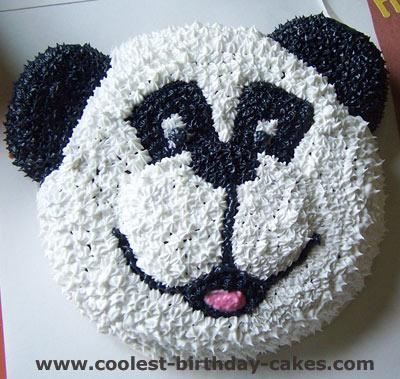 Coolest Homemade Panda Bear Cakes