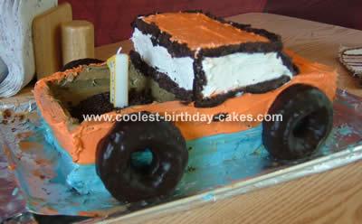 Pickupt Truck Cake