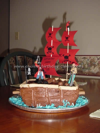 Coolest Pirate Birthday Cake Ideas