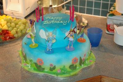 Pixie hollow cake
