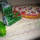 Pizza Birthday Cakes