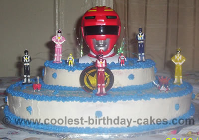 Power Rangers Cake Photo