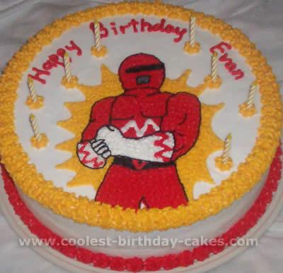 Coolest Power Rangers Cakes