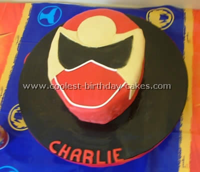30 Awesome Homemade Power Rangers Cakes For A Birthday Party