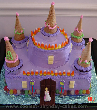 Easy castle birthday cake recipes Food cake recipes