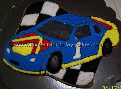 Coolest Homemade Race Car Cakes